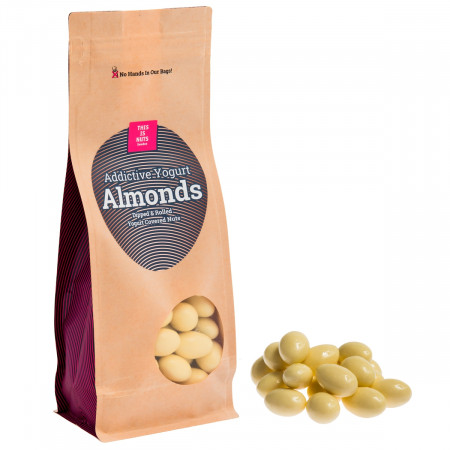 Addictive Yogurt Almonds