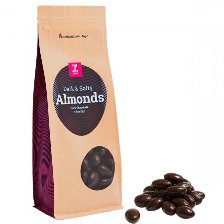 Dark & Salty Almonds