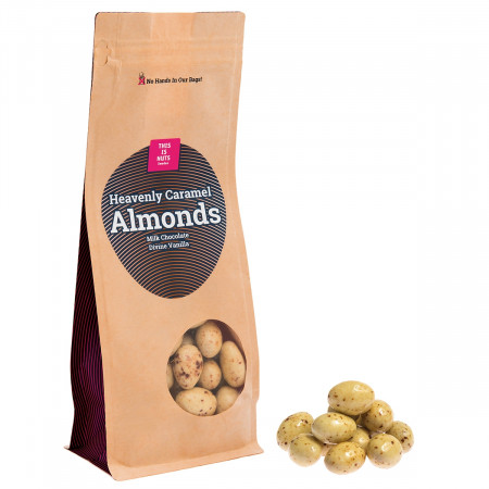 Heavenly Caramel Almonds