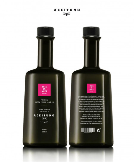 Aceituno & This Is Nuts PREMIUM SPANISH EXTRA VIRGIN OLIVE OIL