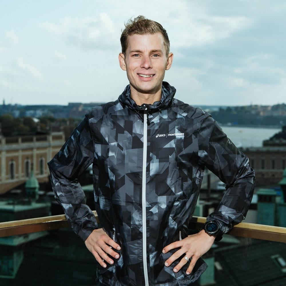 Patrik Mårdh, ultra runner and This Is Nuts Ambassador from Stockholm.