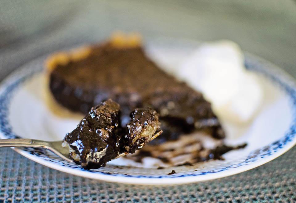 The Goodest, Gooiest Chocolate Coconut Pie Ever
